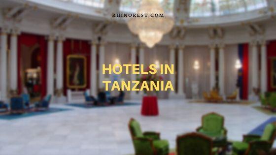 hotels in Tanzania