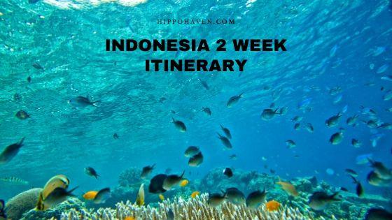 indonesia 2 week itinerary