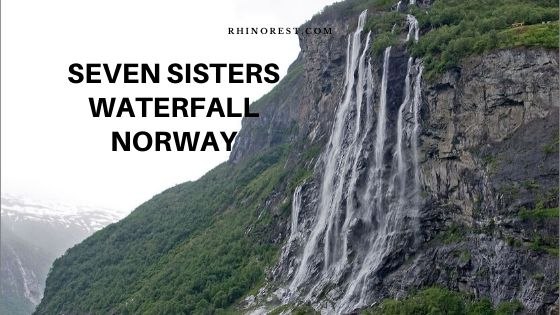seven sisters waterfall norway