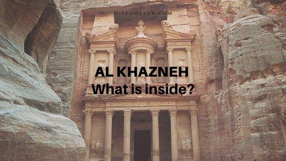 al khazneh inside