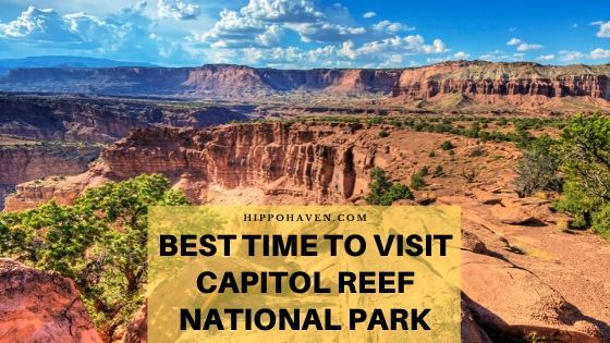 best time to visit capitol reef national park