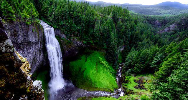 Upper Stevens Creek Falls