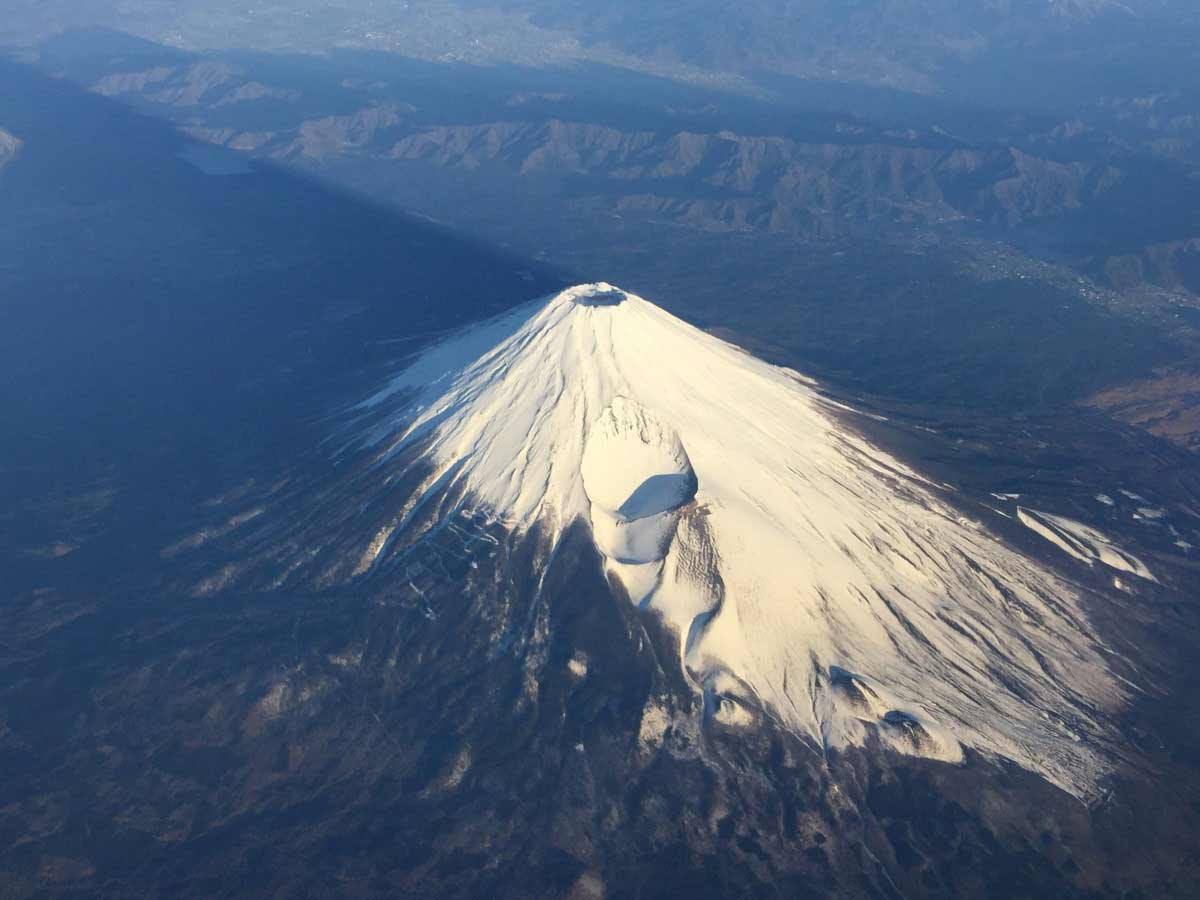 Mount Fuji geographical facts